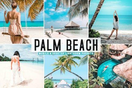 Пресеты для мобильных и настольных компьютеров Palm Beach