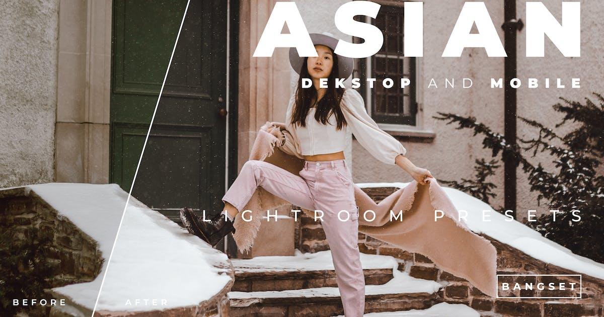 Download Asian Desktop and Mobile Lightroom Preset by Bangset