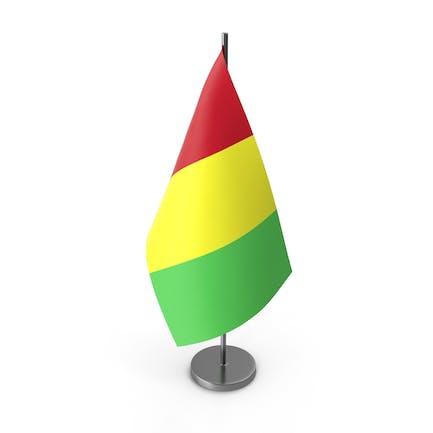 Tischflagge Guinea