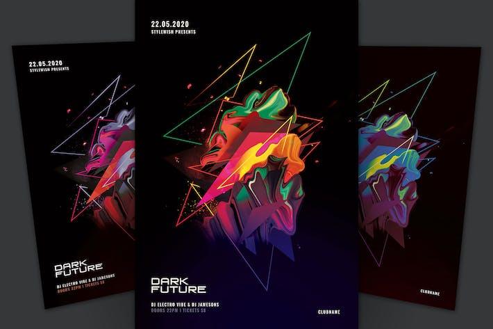 Thumbnail for Dark Future Flyer
