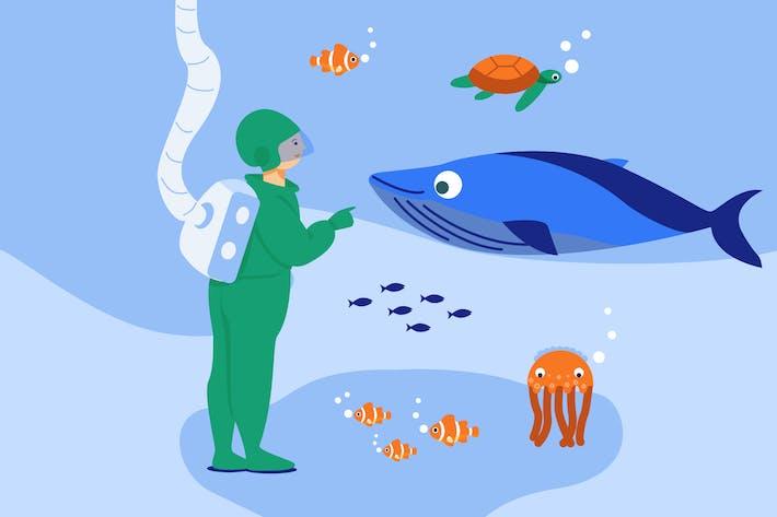 Thumbnail for Erkunden Sie den Ozean