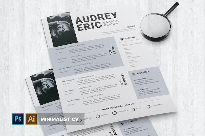 Thumbnail for Minimalist | CV & Resume