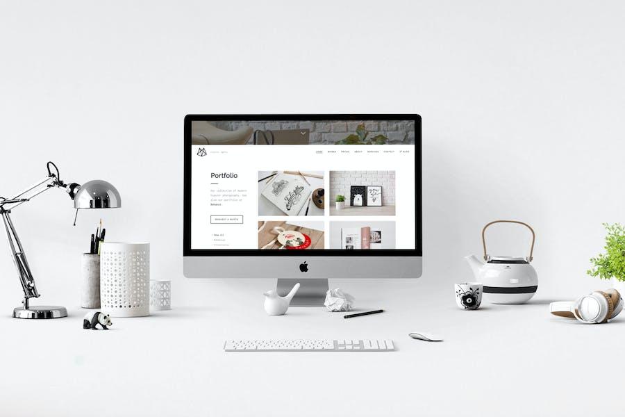Bushwick - One-Page Parallax HTML5 Template