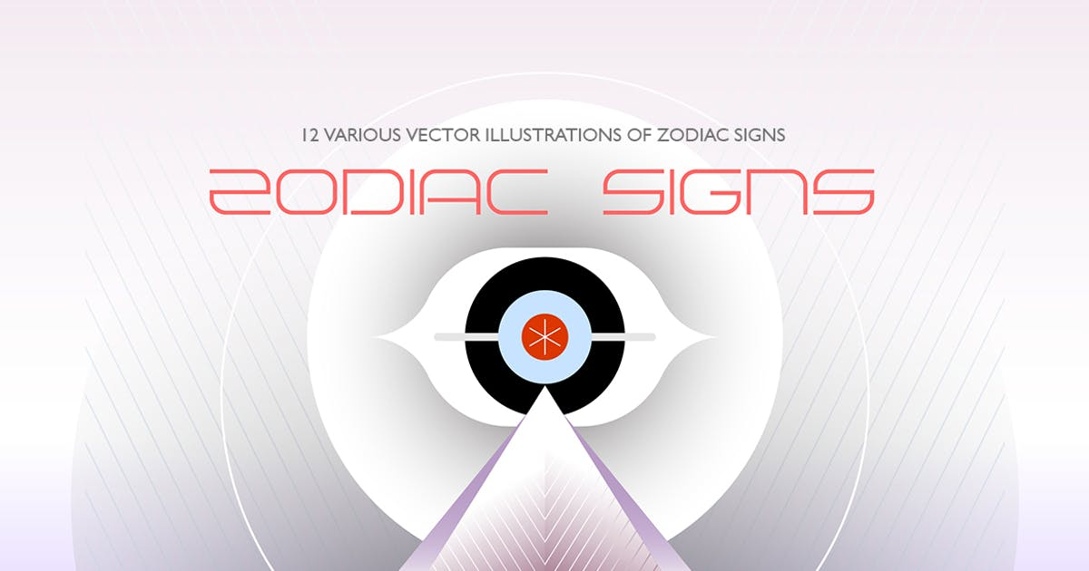Download 12 Zodiac Sign vector illustrations by danjazzia
