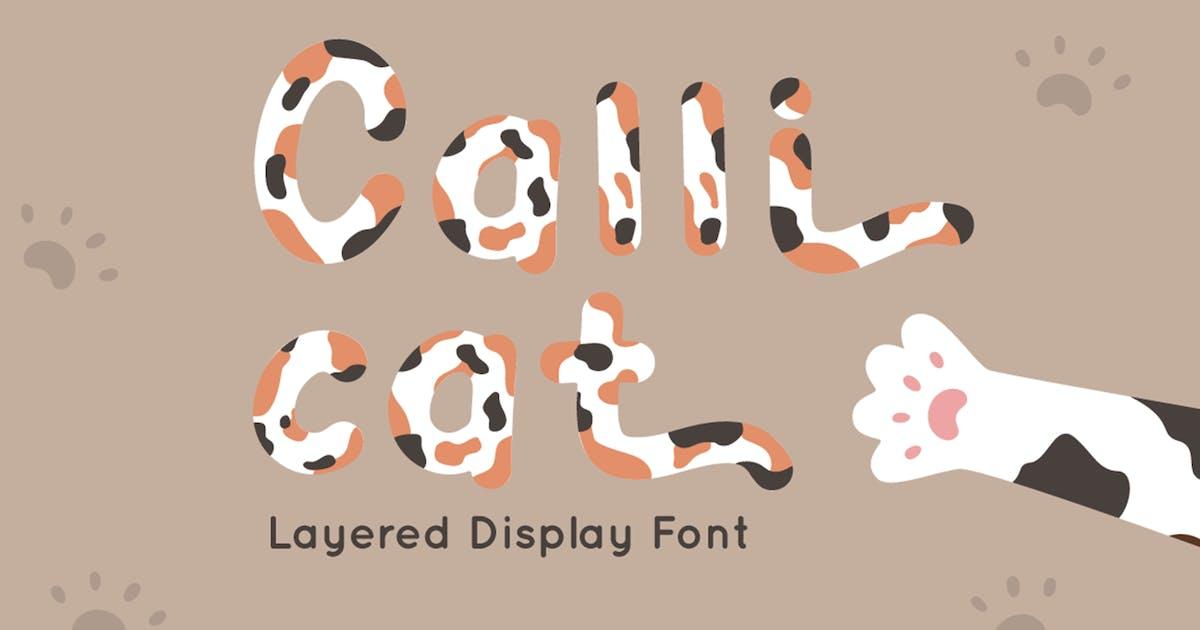 Download Calli Cat - Layered Display Font by Attype-Studio