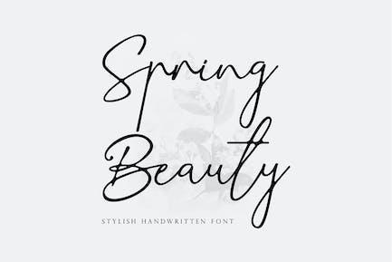 Belleza primaveral