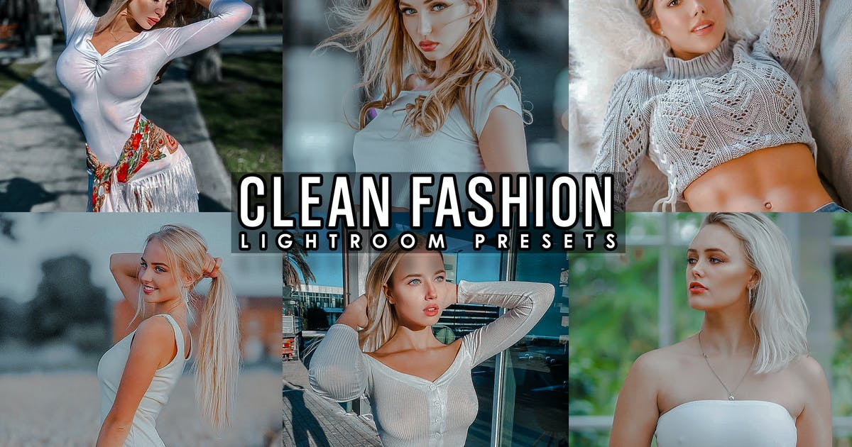Download Clean Fashion Presets ( desktop and Mobile ) by 2lagus