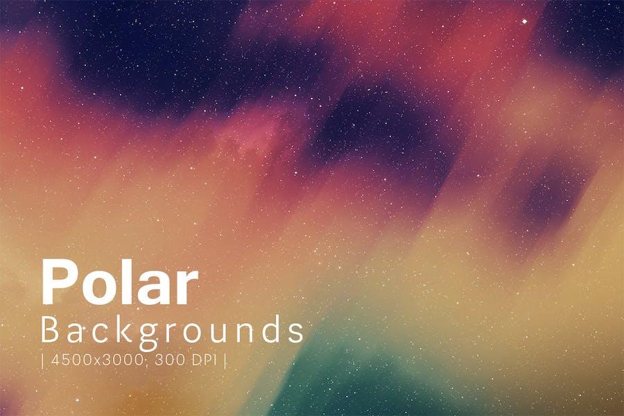 Polar Backgrounds