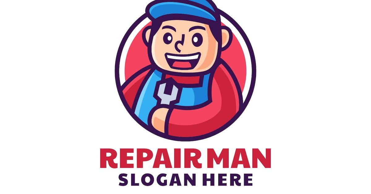 Download Professional Repairman Mechanic Logo Design by Rexcanor