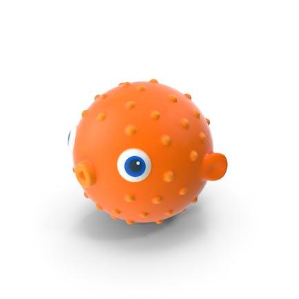 Blow Fish Bath Toy