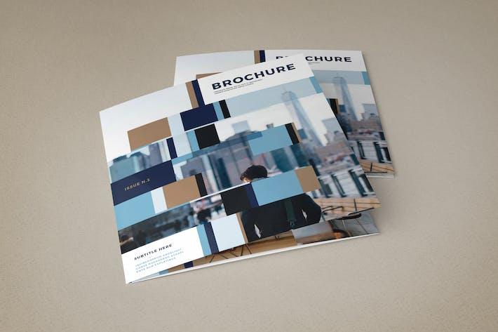 Cover Image For Square Modern Interior Design Trifold