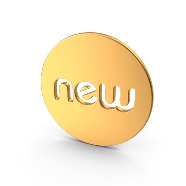 Gold New Symbol