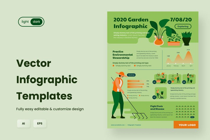 Thumbnail for Infographic Examples for Ecology & Nature 05