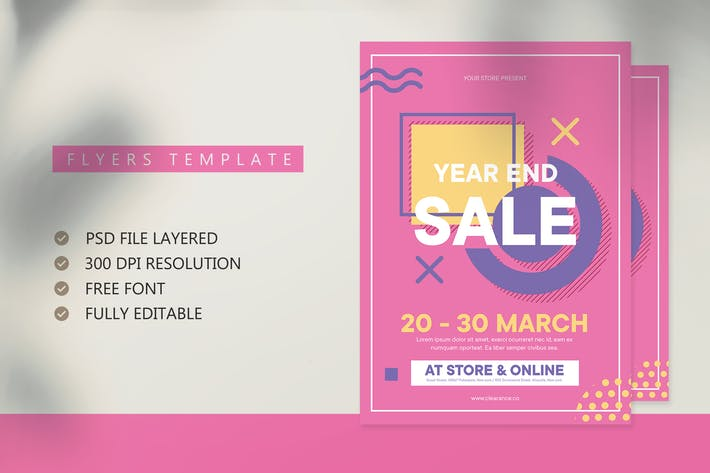Thumbnail for Sales Flyer Template