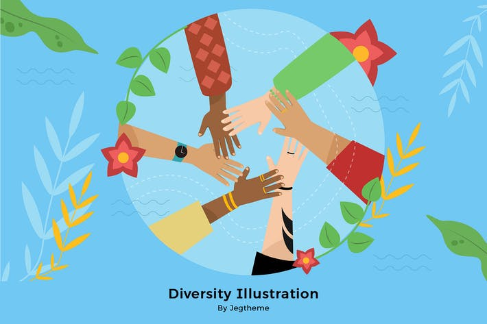 Thumbnail for Diversity Illustration 2