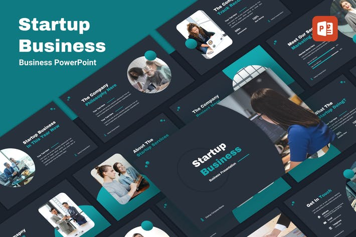 Thumbnail for Startup - Business PowerPoint Template