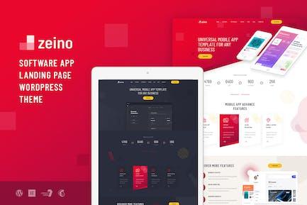 Zeino - App Landing WordPress Thema