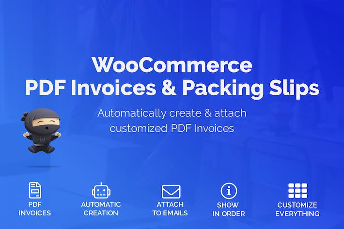 Thumbnail for WooCommerce PDF Invoices & Packing Slips