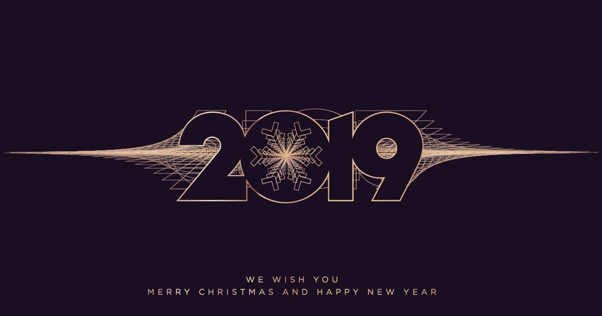 Download Business Christmas and New Year Greeting Card by PureSolution
