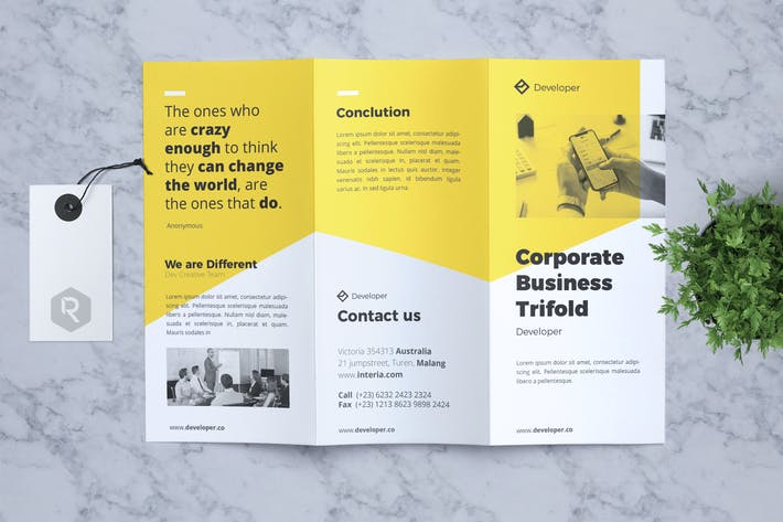 Cover Image For Corporate Business Flyer Vol. 16