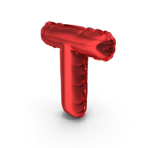 Balloons Alphabet Letter T