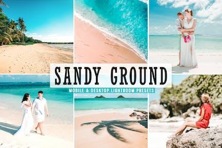 Sandy Ground Móvil y Desktop Ajustes preestablecidos de Lightroom
