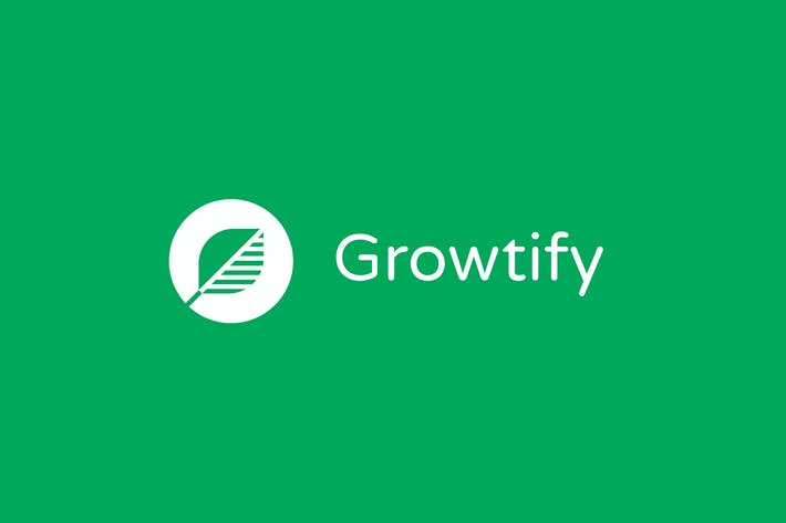 Cover Image For Growtify Logo