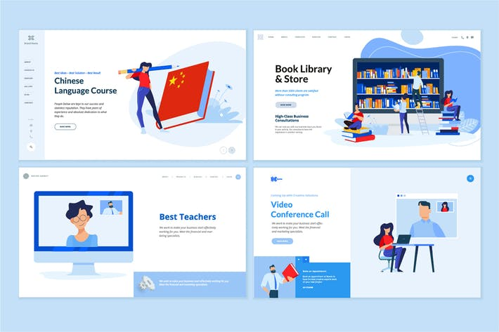 Thumbnail for EntwurfsVorlagen für Webseiten