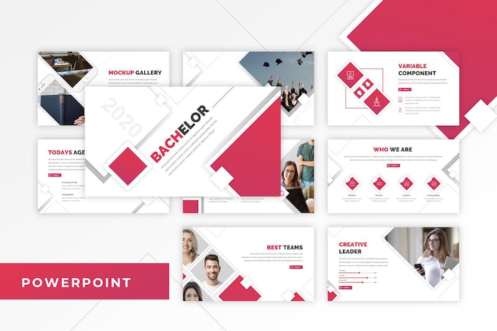 Thumbnail for Bachelor - Education PowerPoint Template