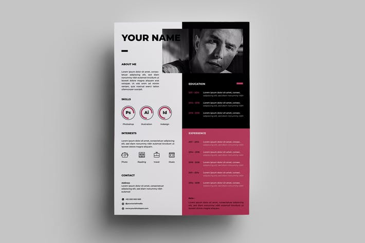 Thumbnail for Resume Design Templates.03