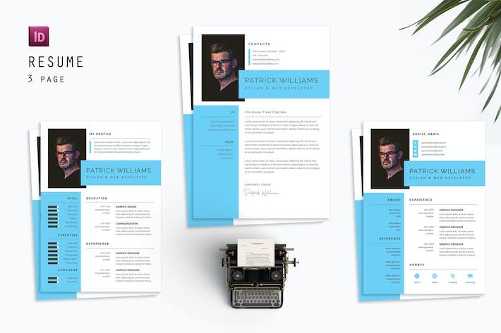 Patrick Resume Designer
