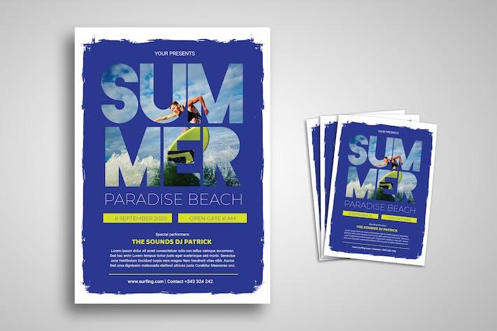 Thumbnail for Summer Festival Promo Flyer
