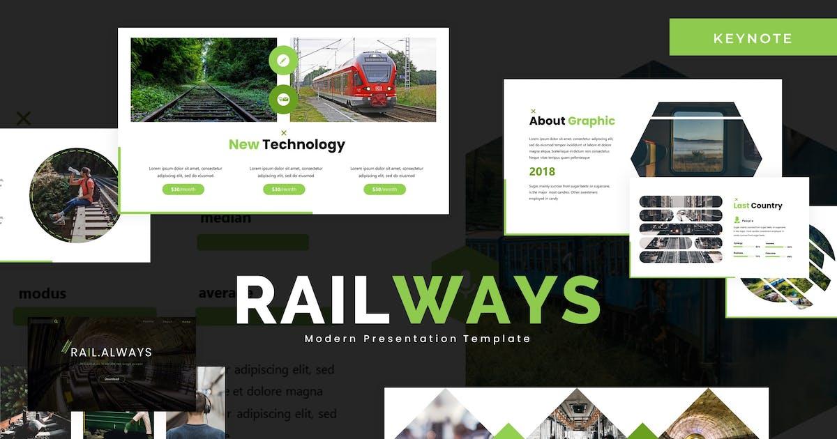 Download Railalways  - Keynote Template by karkunstudio