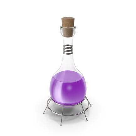 Frasco Alquímico Violeta