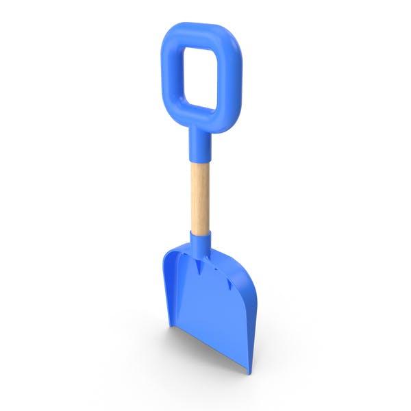 Пляжная лопата Синий