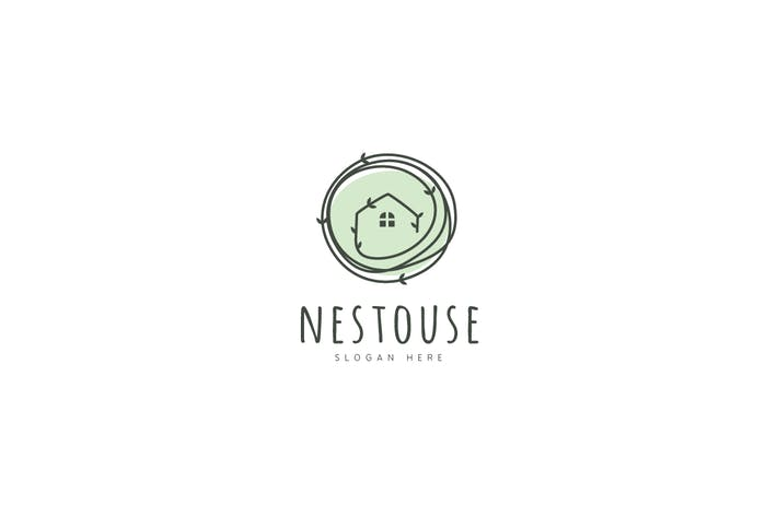 Cover Image For Nest House Logo