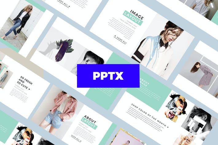 Thumbnail for Stylist - Powerpoint