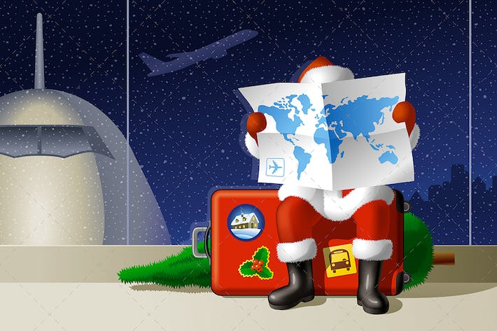 Thumbnail for Santa's Christmas Travel