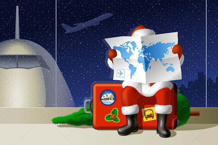 Thumbnail for Weihnachtsmann Reise
