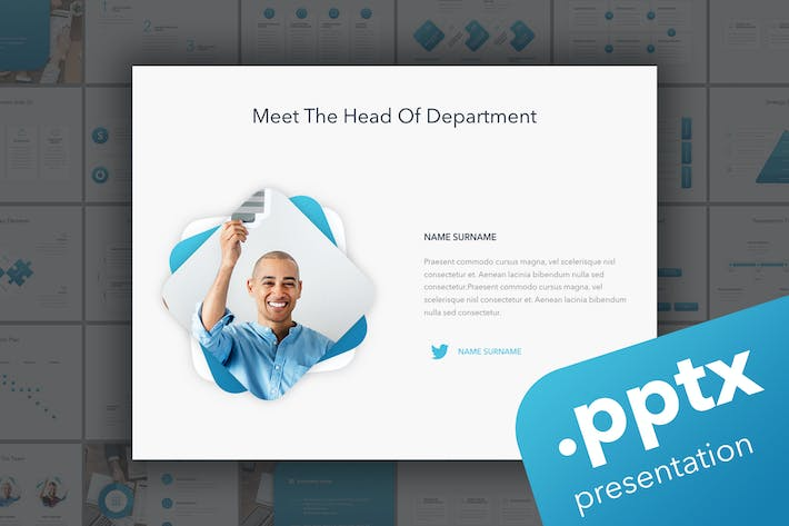 Thumbnail for Strategic Planning PowerPoint Template
