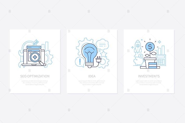 Thumbnail for Creative entrepreneurship banners