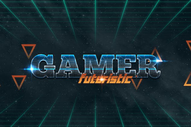 Gaming Text Effect