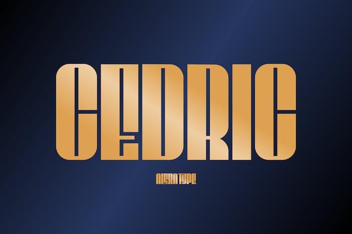 Cover Image For CEDRIC - Tipo de letra condensada con clase
