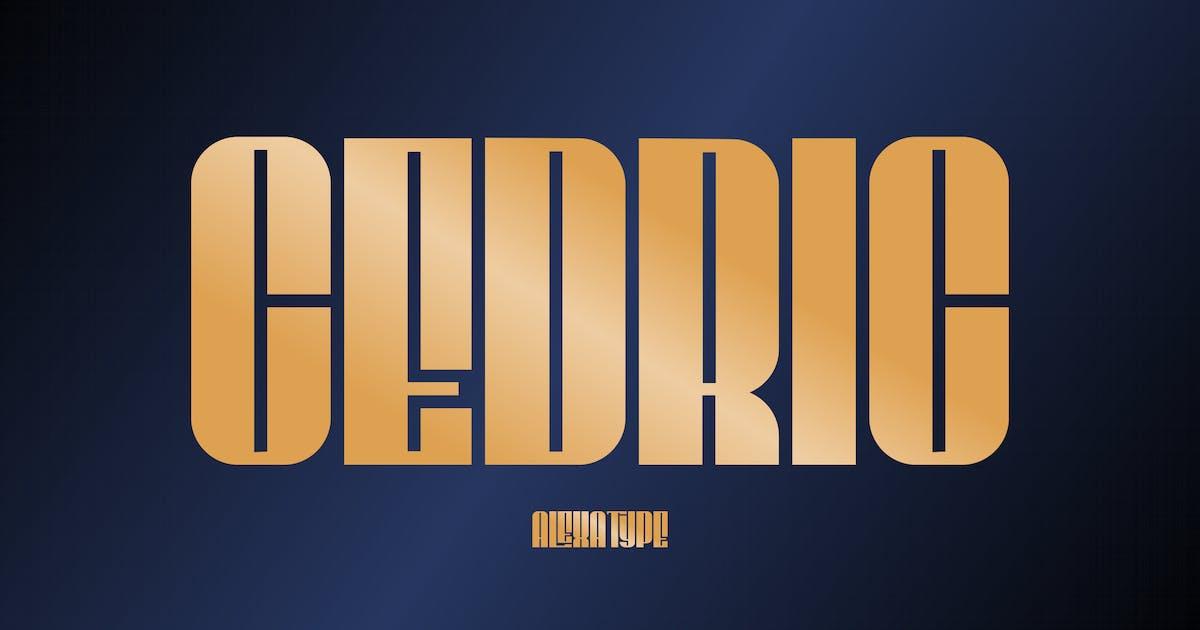 Download CEDRIC - Classy Condensed Font by alexacrib
