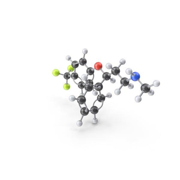 Fluoxetine Molecule
