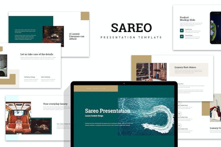 Thumbnail for Sareo : Luxury Business Plan Keynote