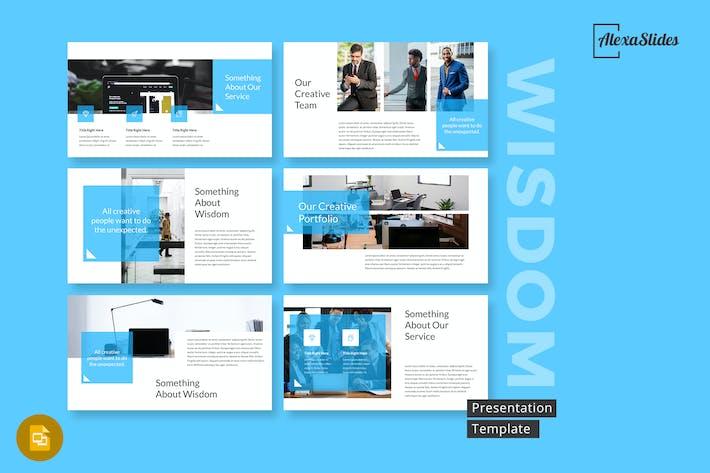Thumbnail for Wisdom - Google Slides Presentation Template