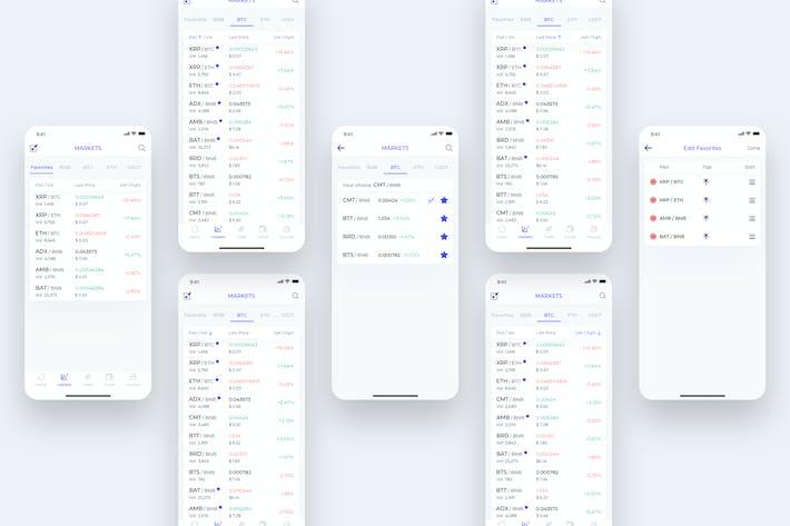 Thumbnail for Market - CryptoTrade UI - FM