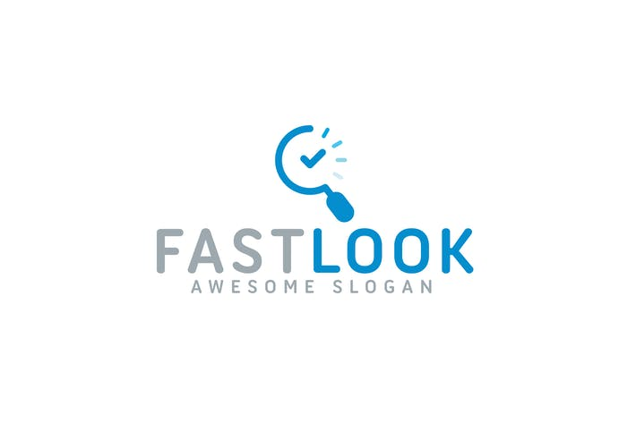 Thumbnail for Fast Look Logo Template