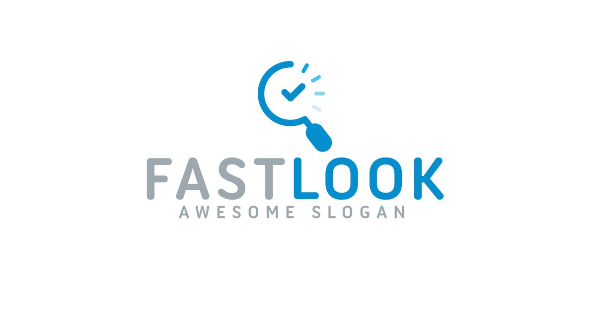 Download Fast Look Logo Template by hoanglam1607